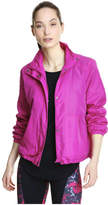 Joe Fresh Women's Active Cropped Parka, Fuchsia (Size L)