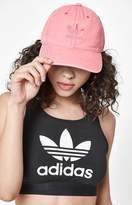 adidas Relaxed Pink Strapback Dad Hat