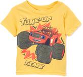 Children's Apparel Network Yellow Blaze & the Monster Machines Short-Sleeve Tee - Toddler