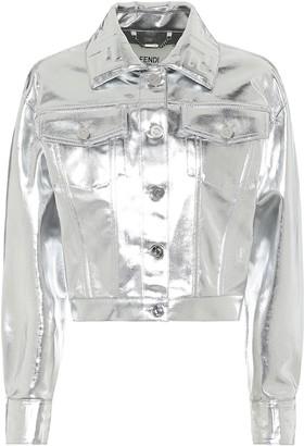 Fendi Coated denim jacket