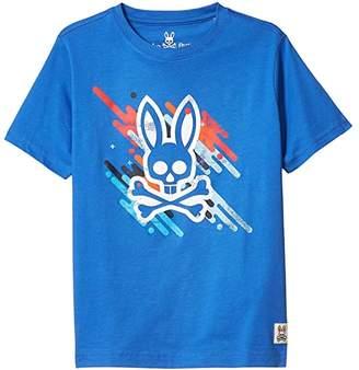 Psycho Bunny Kids Florio Graphic Tee (Toddler/Little Kids/Big Kids) (Nebulas) Boy's Clothing