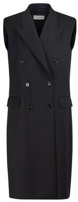 Dries Van Noten Wool-blend long jacket