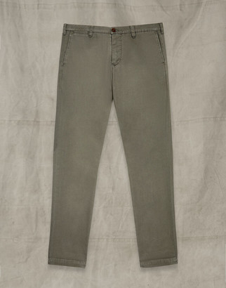 Belstaff OFFICERS CHINO TROUSERS Green