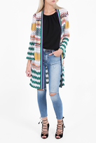 Missoni Bell Sleeve Long Cardigan