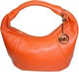 MICHAEL Michael Kors Slouchy Leather Hobo Bag Burnt Orange