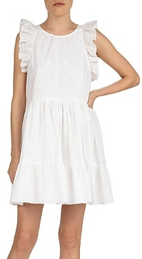 The Kooples Heart Printed Shift Dress