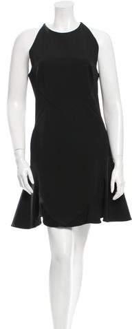 Cushnie et Ochs Flared Mini Dress