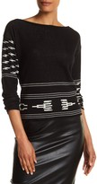 Plenty by Tracy Reese Pullover Boatneck Sweater