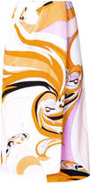 Emilio Pucci abstract print sarong