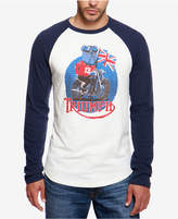 Lucky Brand Men's Adam Nickle Triumph Raglan T-Shirt
