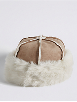 M&S Collection Faux Fur Shearling Winter Hat