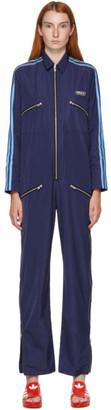 adidas LOTTA VOLKOVA Navy Zip Jumpsuit