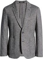 Thumbnail for your product : Nordstrom Men's Shop Extra Trim Fit Knit Sport Coat