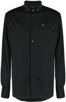 Philipp Plein studded collar shirt