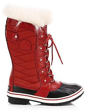 Sorel Women's Tofino II Coated Canvas & Faux Fur Winter Boots