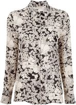Saint Laurent floral print shirt - women - Viscose - 8