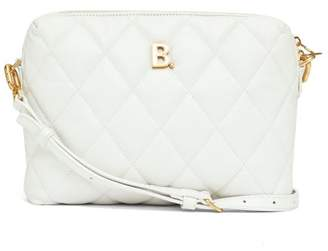 Balenciaga Touch Small B-logo Quilted-leather Cross-body Bag - Womens - White