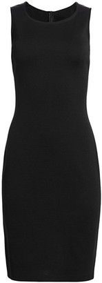 St. John Caviar Milano Knit Dress