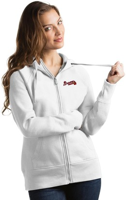 Antigua Women's Atlanta Braves Victory Hoodie