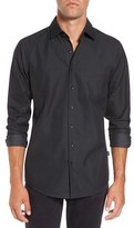 Rodd & Gunn Men's Roland Sports-Fit Dot-Jacquard Sport Shirt