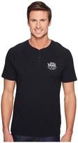 Vans Holder Street Short Sleeve Henley Men's Clothing