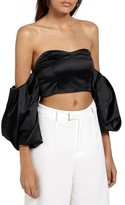 Missguided Women's Off The Shoulder Crop Top