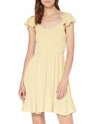 New Look Women's Bog Shirred Bardot Dress