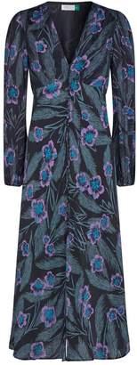 Rixo Tahnee V-Neck Maxi Dress