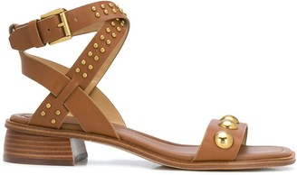 MICHAEL Michael Kors Luggage studded sandals