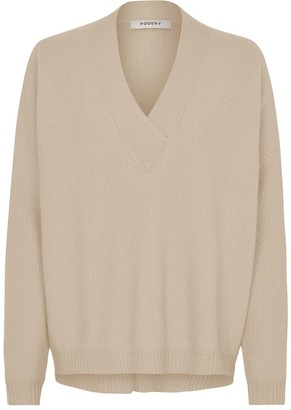 Podeny Sandrine Jumper Light Camel