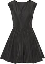 Carven Open-back taffeta mini dress