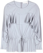 See by Chloe Cotton Blouse