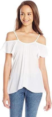 Lucy-Love Lucy Love Women's Hollie Off Shoulder Top