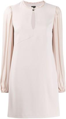 Pinko ruffle sleeve dress