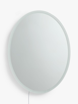 John Lewis & Partners Oval Bathroom Wall Mirror