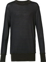 Ziggy Chen - cashmere stripe jumper - men - Cashmere - 46