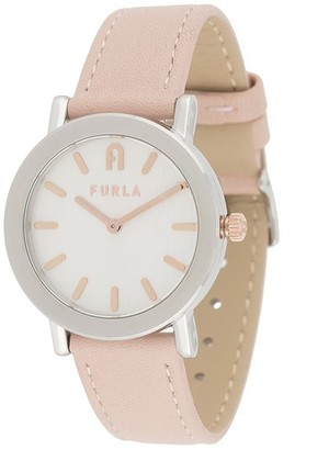 Furla Two-Tone Round-Face Watch