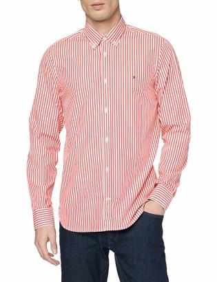Tommy Hilfiger Men's Hyper Classic Stripe Shirt Casual