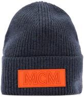 MCM Logo Patch Beanie