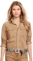 Polo Ralph Lauren Suede 2-Pocket Shirt
