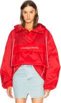 Vetements Overhead Nylon Jacket