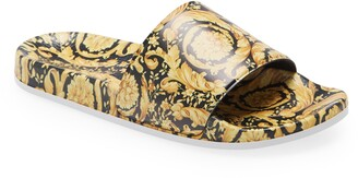 Versace Kids' Barocco Slide Sandal