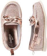 Osh Kosh OshKosh Rose Gold Sparkle Boat Shoes