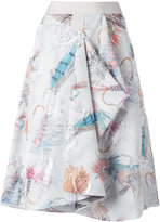 Chalayan Enveloped skirt - women - Polyester/Acetate/Viscose - 38