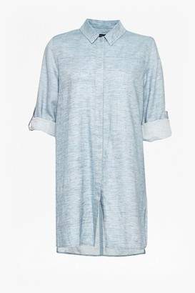 French Connection Chambray Shirt Dress