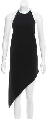 Anthony Vaccarello Sleeveless Midi Dress
