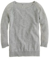J.Crew Cashmere pointelle sweater