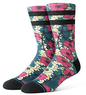 Stance Barrier Reef Floral Print Socks
