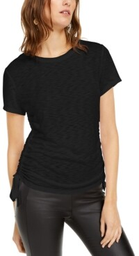 INC International Concepts Inc Double-Ruched Top, Created for Macy's