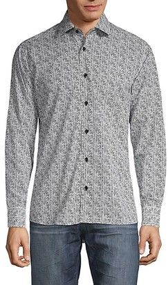 Bertigo Printed Long-Sleeve Shirt